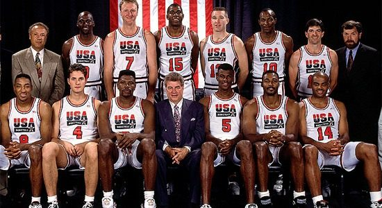 1992 USA Team versus 2012 USA Team